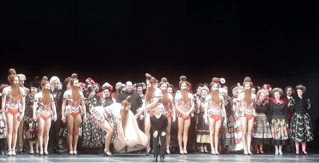 """Komische Oper Berlin, Premiere """"Die Nase"""" am 16.06.2018. Foto © Urszula Usakowska-Wolff"""