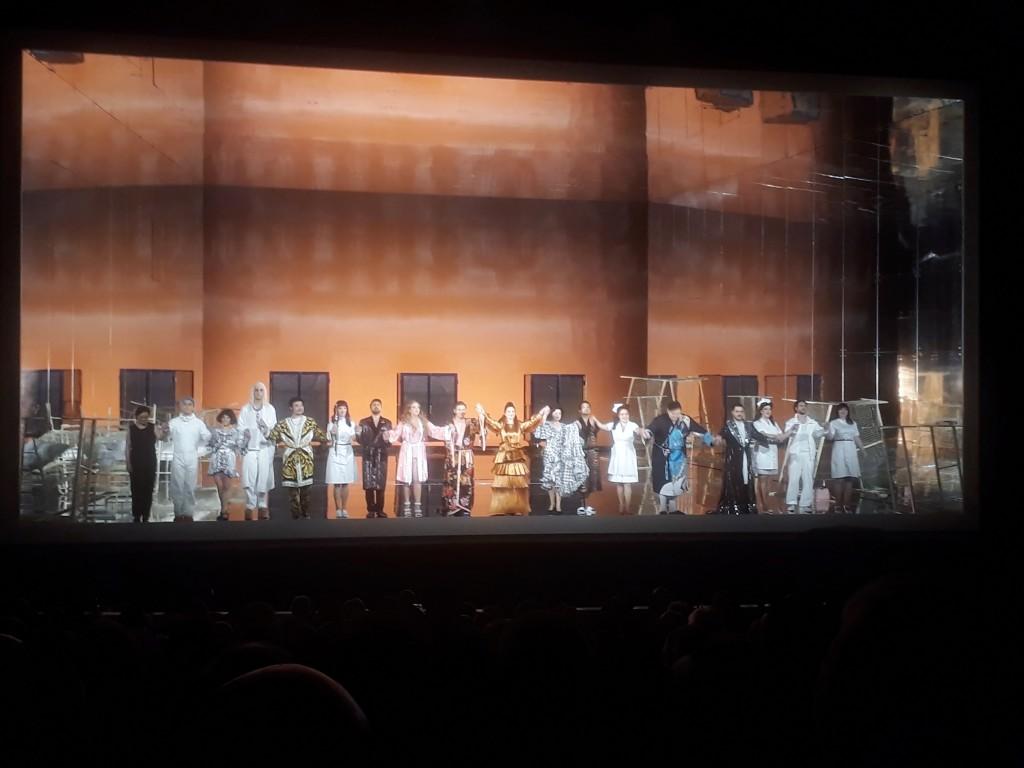 """Premiere von Rossinis """"Reise nach Reims"""", Deutsche Oper Berlin, 15.06.2018. Foto © Urszula Usakowska-Wolff"""