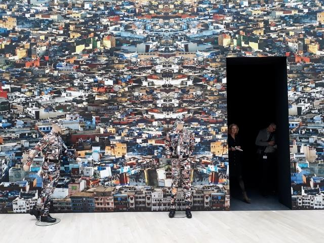 Vibha Galhotra, Neo-Camouflage (Installationsfragment). Foto © Urszula Usakowska-Wolff
