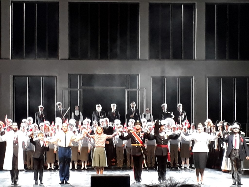 Wozzek, Deutsche Oper Berlin, 5.10.2018. Foto © Urszula Usakowska-Wolff