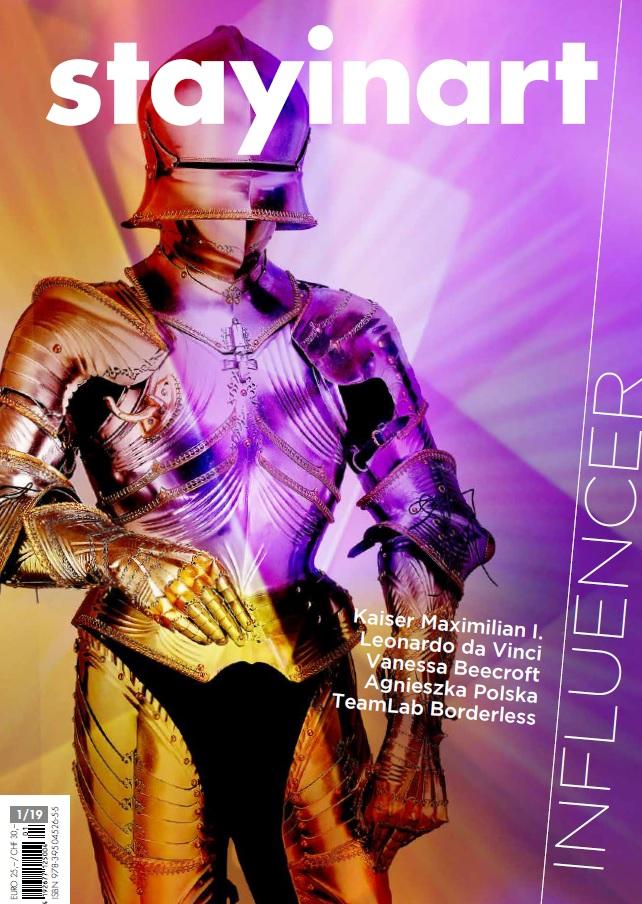 Kunstmagazin stayinart 1.19, Cover