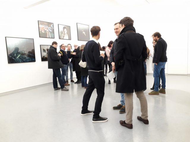 "Eröffnung der Ausstellung ""Past Perfect"" von Michał Solarski & Tomasz Liboska im KVOST Berlin, 1.02.2019. Foto © Urszula Usakowska-Wolff"