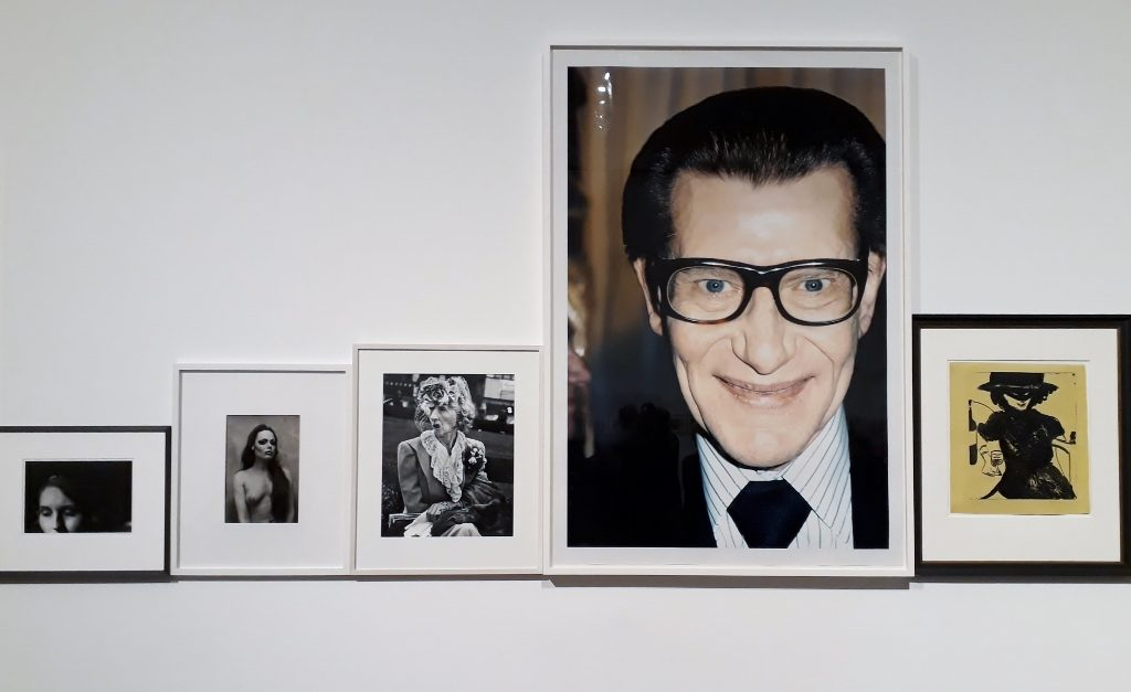 Juergen Teller, Yves Saint Laurent (2. von rechts), me Collectors Room. Foto: Urszula Usakowska-Wolff