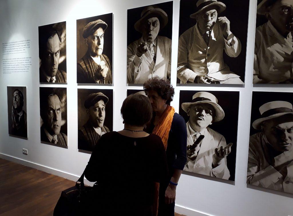 """""""Witkacy. Ein genialer Psychoholiker"""" in der Galerie des Polnischen Instituts Berlin, 21.02.2018. Foto: Urszula Usakowska-Wolff"""