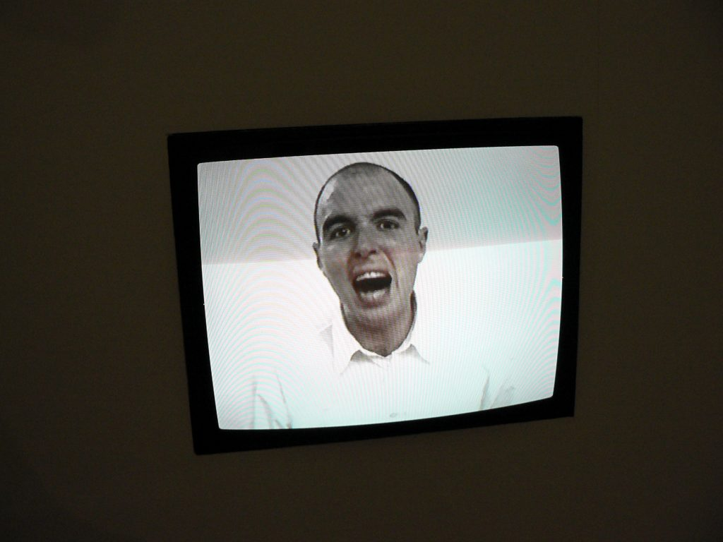 "Absalon: ""Bruits"", Video, 1993. Kunst-Werke Berlin. Foto © Urszula Usakowska-Wolff"