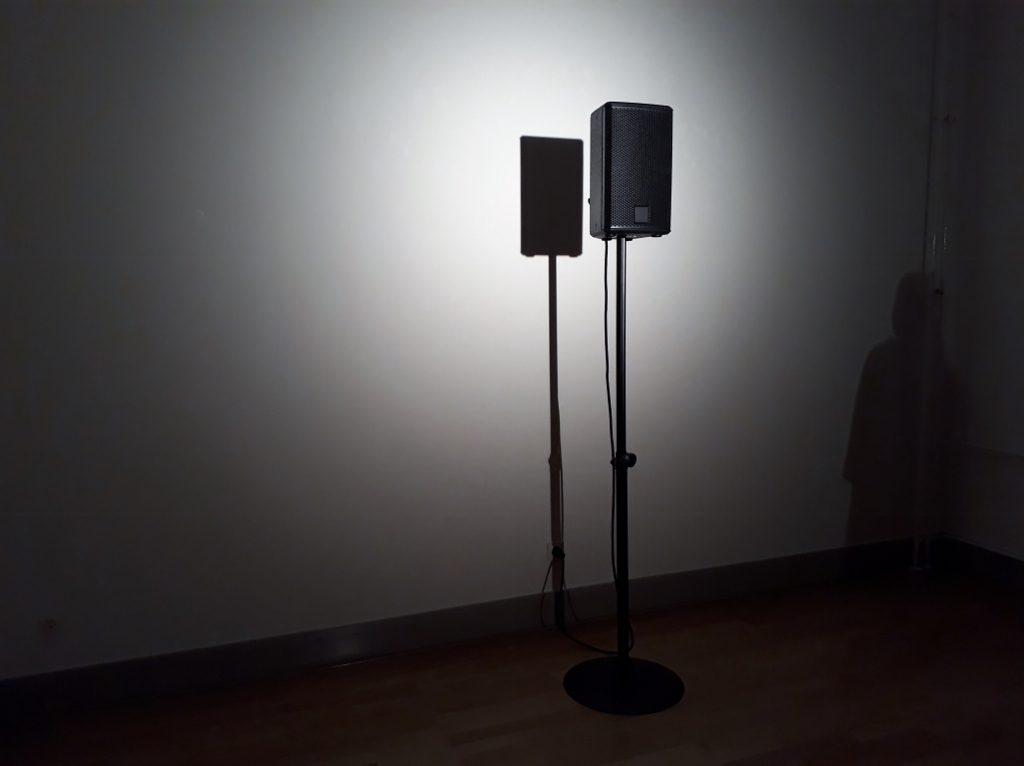 """Nasan Tur, """"Speech"""", Soundinstallation, 2019. Foto © Urszula Usakowska-Wolff"""