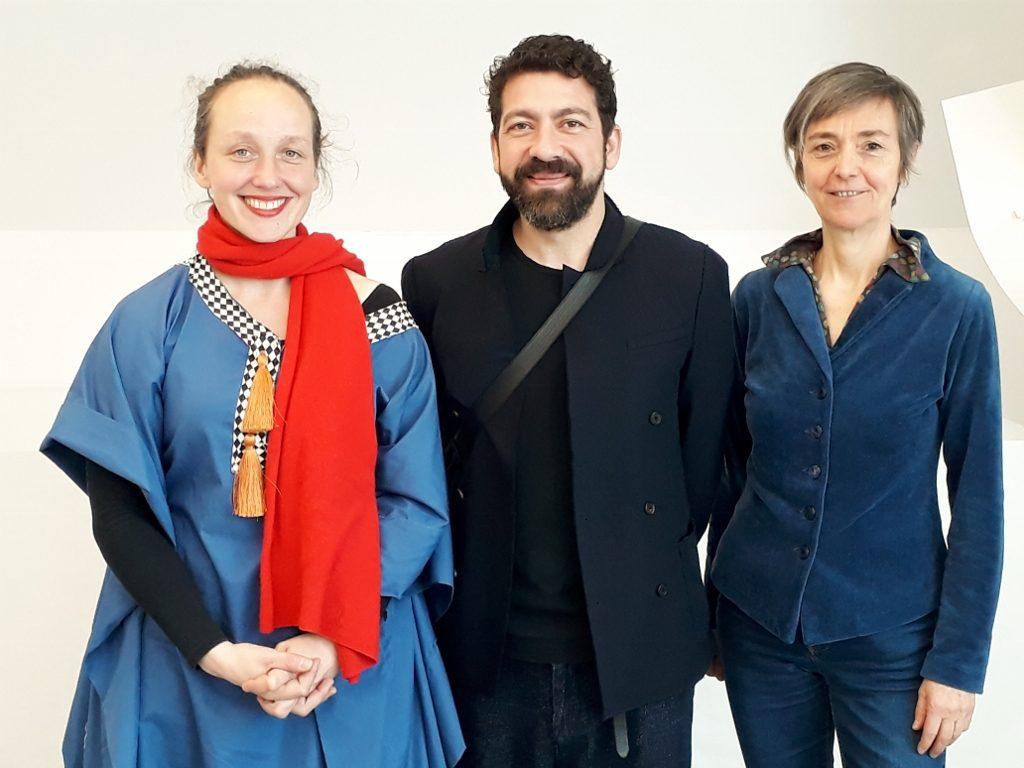 Rebecca Raue, Nasan Tur und Katrin von Lehmann. Foto © Urszula Usakowska-Wolff