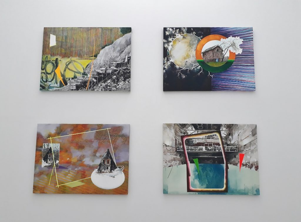 "Romain Van Wissen, Blick in die Ausstellung ""La maison somnole"", Berlin, 2019. Foto © Urszula Usakowska-Wolff"