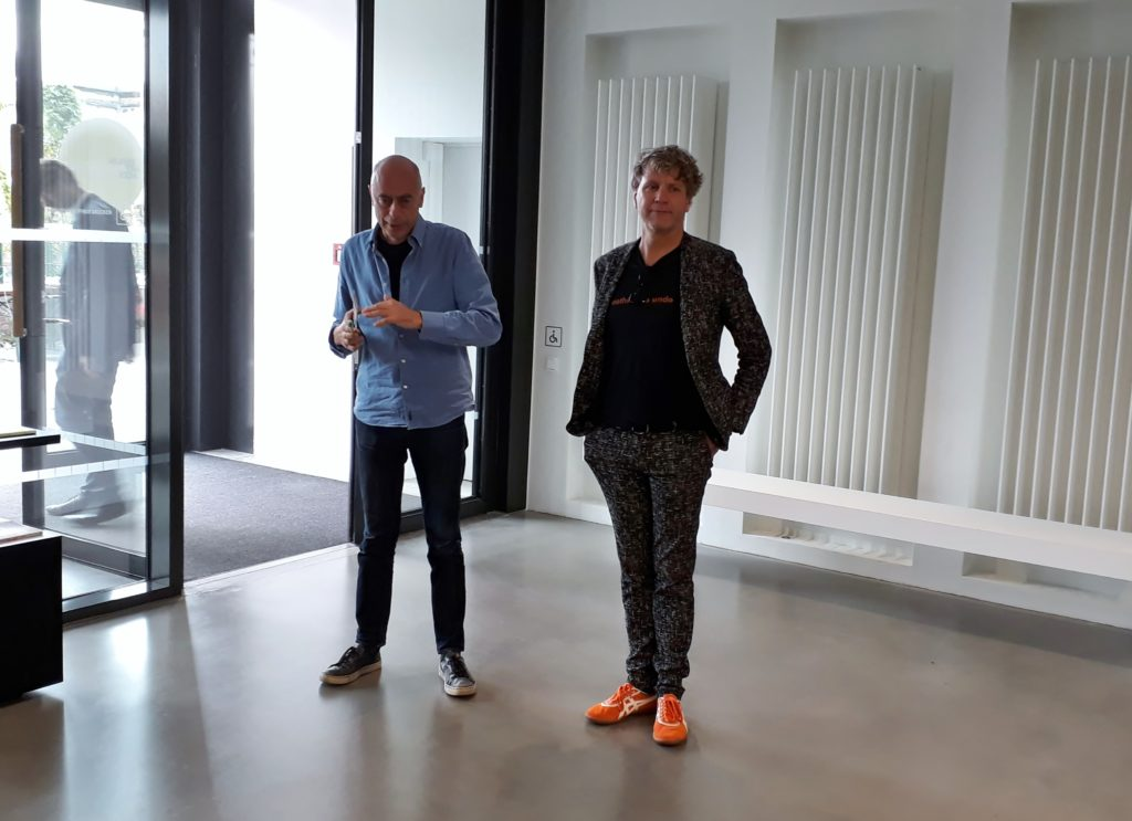 Bjørn Melhus (r.) und Andreas Fiedler, KINDL, 13. September 2019. Foto © Urszula Usakowska-Wolff