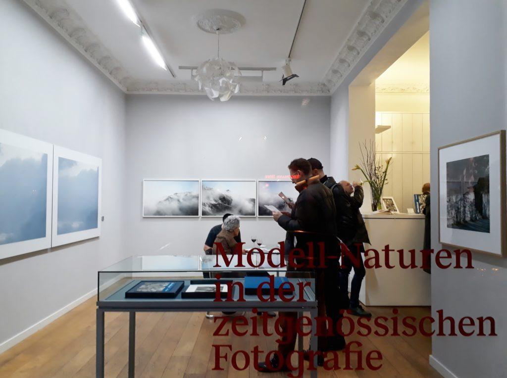 """Blick in die Ausstellung """"Modell-Naturen in der zeitgenössischen Fotografie"""". Foto © Urszula Usakowska-Wolff"""