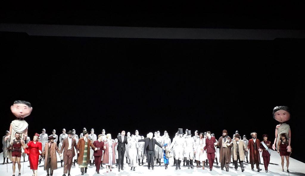 """Benjamin Britten, """"A Midsummer Night's Dream"""", Premiere, Deutsche Oper Berlin am 26. Januar 2020. Foto © Urszula Usakowska-Wolff"""
