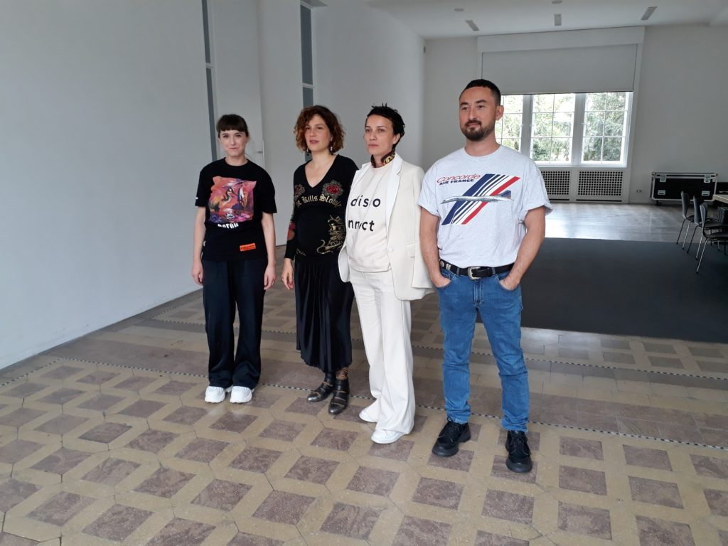 Katja Novitskova, Pauline Curnier Jardin, Flaka Haliti und Simon Fujiwara,  Hamburger Bahnhof, 15.08.2019. Foto © Urszula Usakowska-Wolff