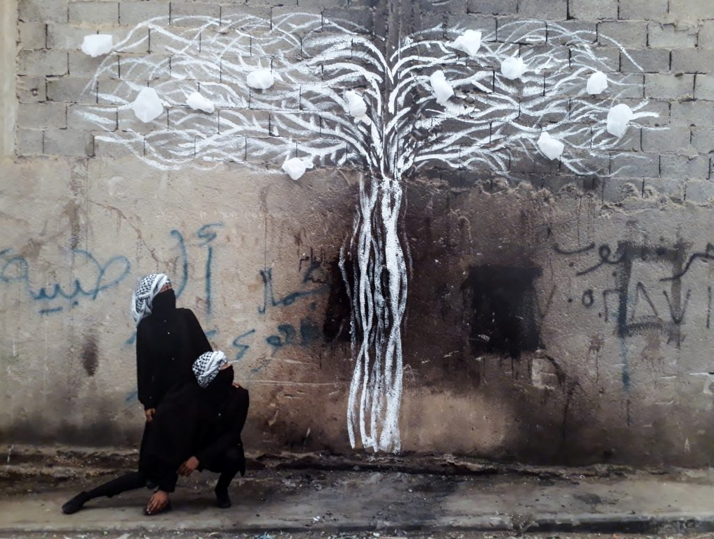 Robin Rhode, Tree of Life (Detail), 2019. C-Print. Foto © Urszula Usakowska-Wolff