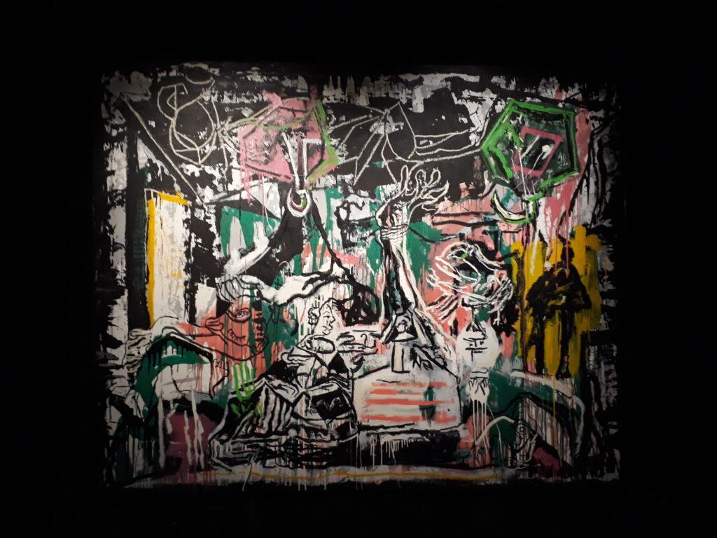 "Oster Groom, Meninen Figuren, Ausstellung ""Chrome Dinette"", Galerie Urban Spree Berlin, 2020. Foto Urszula Usakowska-Wolff Oster Groom, Meninen Figuren, Ausstellung ""Chrome Dinette"", Galerie Urban Spree Berlin, 2020. Foto © Urszula Usakowska-Wolff"