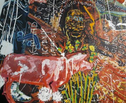 Das Kunstkabinett »Chrome Dinette« von Orsten Groom in der Galerie Urban Spree
