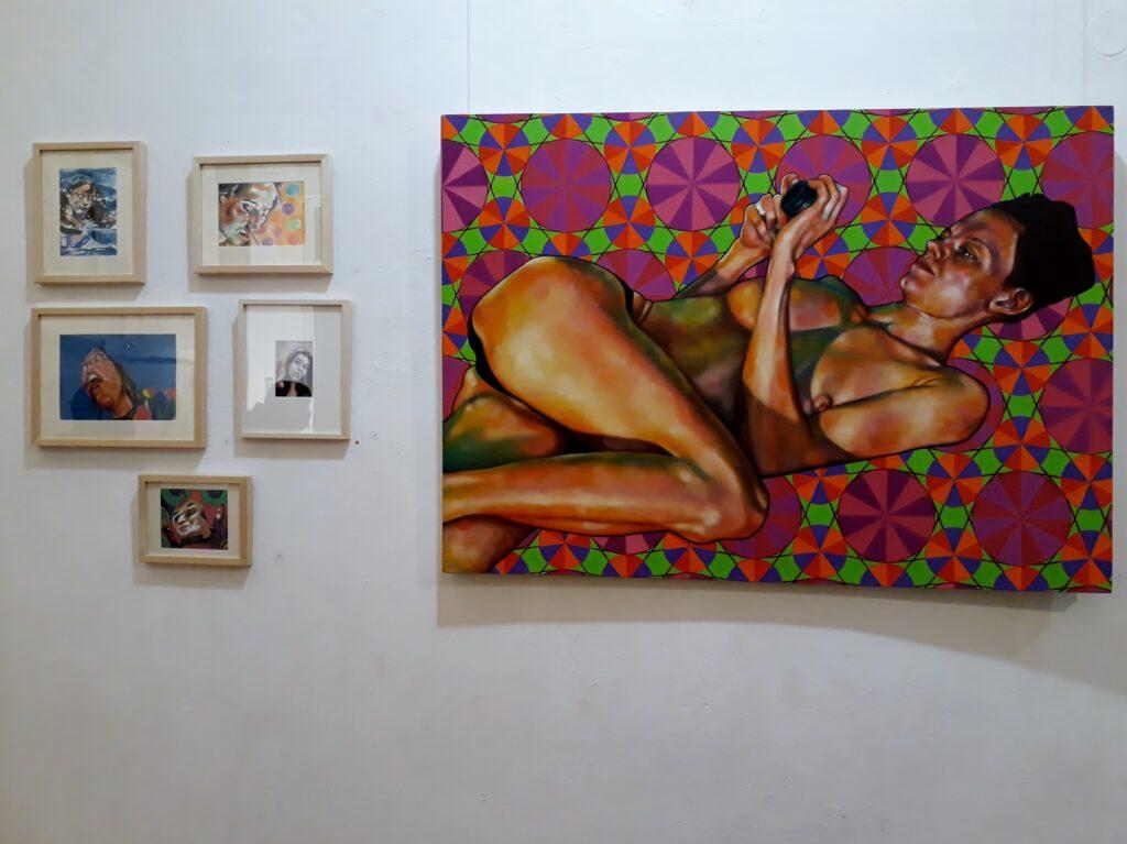 Bilder von Daniela Bustamante, K-Salon Berlin, 3.-12.12.2020. Foto © Urszula Usakowska-Wolff