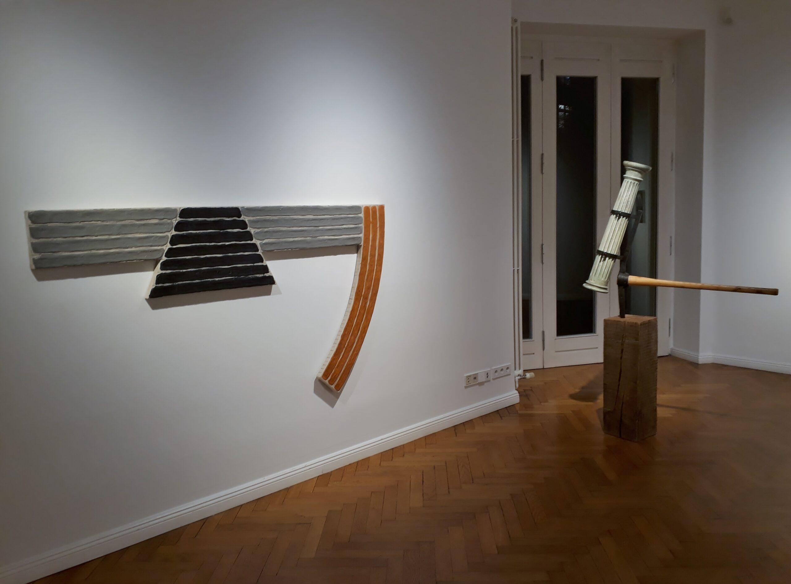 Das Spiel mit den Gegensätzen: Gary Kuehn in der Galerie Michael Haas