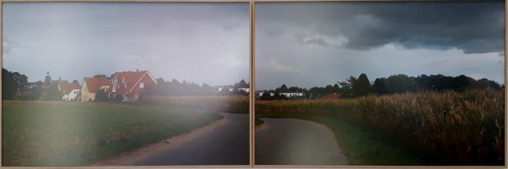 """Ausstellungsansicht """"Damme"""" von Heidi Specker in der Kommunalen Galerie Berlin, 2020. Foto © Urszula Usakowska-Wolff"""