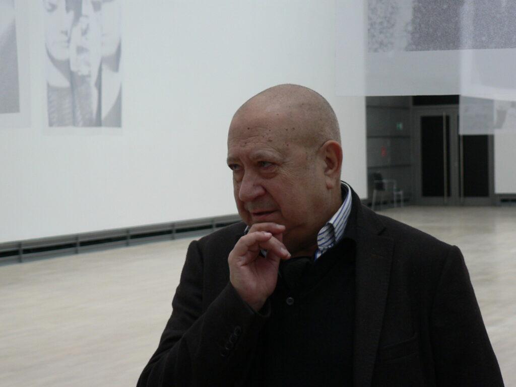 Christina Boltanski am 2. März 2013 im Kunstmuseum Wolfsburg. Foto © Urszula Usakowska-Wolff