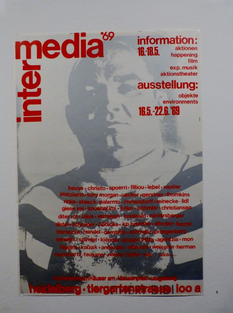 Festival Intermedia 69, Plakat. Foto © Urszula Usakowska-Wolff