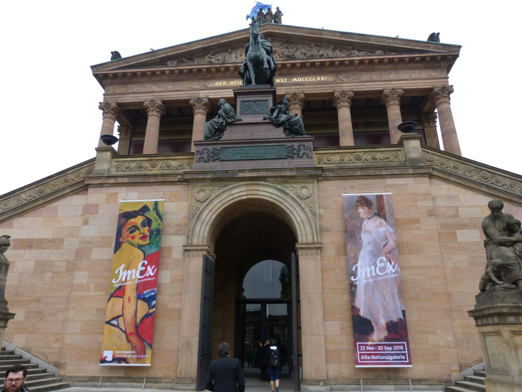 Alte Nationalgalerie Berlin. Foto © Urszula Usakowska-Wolff