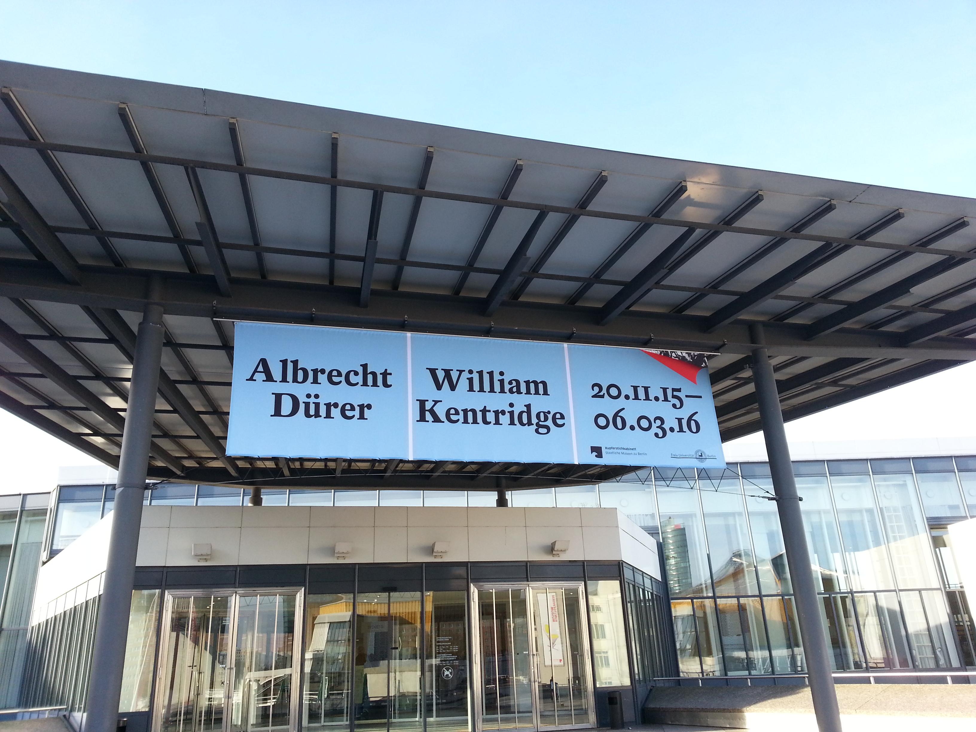 Albrecht Dürer & William Kentridge: Ein Blick genügt nicht