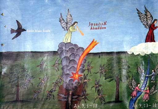 Józef Chełmowski, Apokalypse (Fragment), Foto: privat