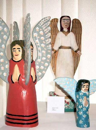 Józef Chełmowski, Zwei betende Engel, Sammlung Usakowska+Wolff