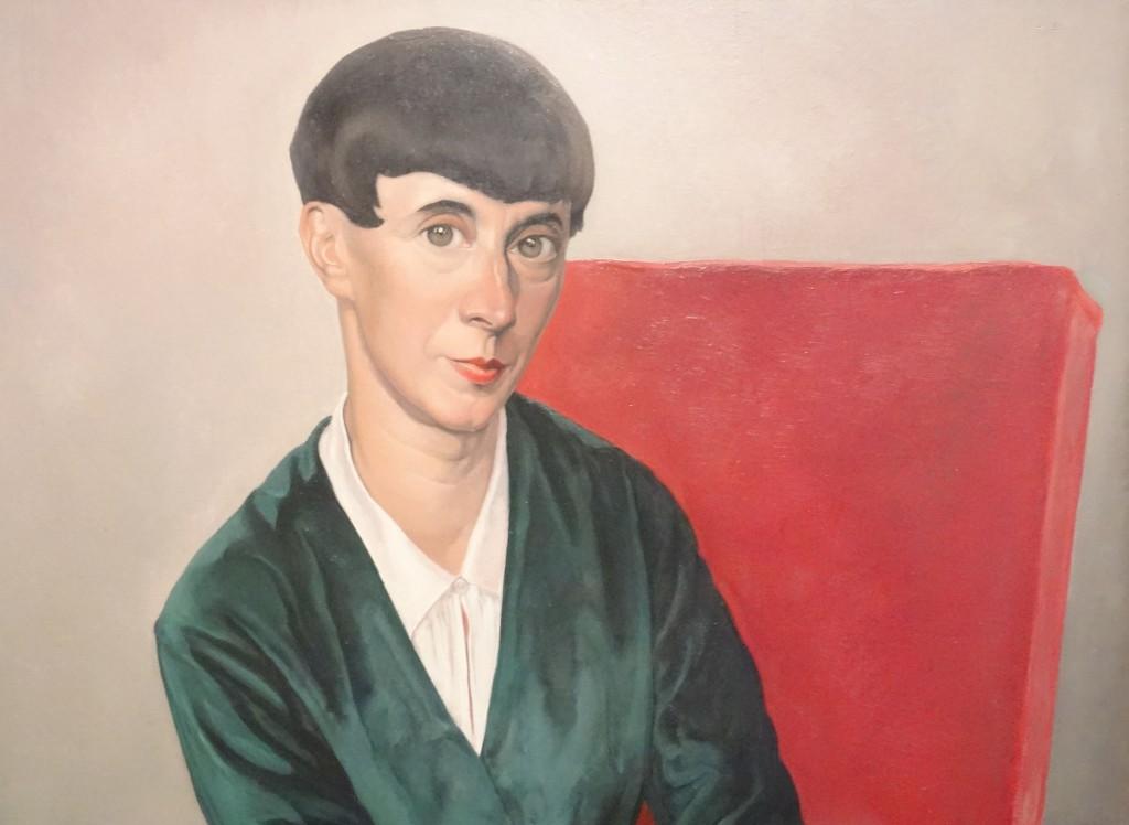 Christ Lebeau, Porträt von Hannah Höch, 1933, Quelle Wikipedia, CC-BY-SA 4.0