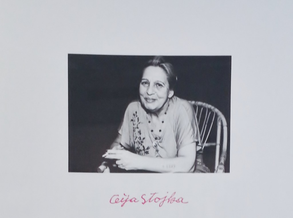 Ceija Stojka, Sogar der Tod hat Angst vor Auschwitz, Ausstellung Berlin, 2014. Foto Urszula Usakowska-Wolff