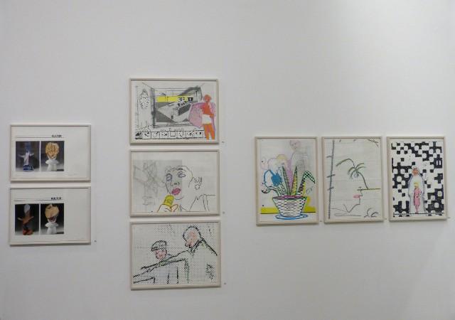 """Ausstellungsansicht """"Sigmar Polke - Die Editionen"""". Foto © Urszula Usakowska-Wolff"""
