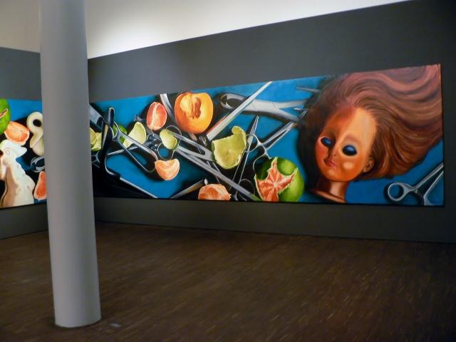 "Farid Rasulov, Ohne Titel (Detail), Ausstellung ""Fly to Baku"", 2012. Foto © Usakowska-Wolff"