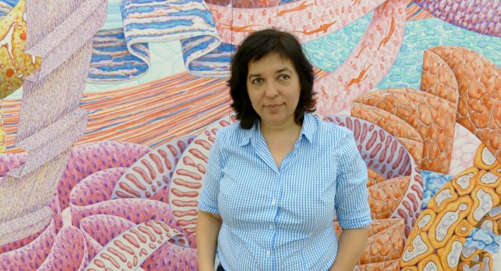 Corinne Wasmuht, Käthe-Kollwitz-Preis 2014. Foto © Urszula Usakowska-Wolff