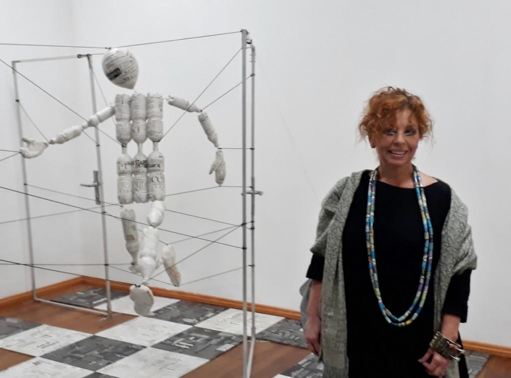 Hanna Maria Ograbisz-Krawiec, Projektraum art.endart Berlin, 26.10.18. Foto © Urszula Usakowska-Wolff