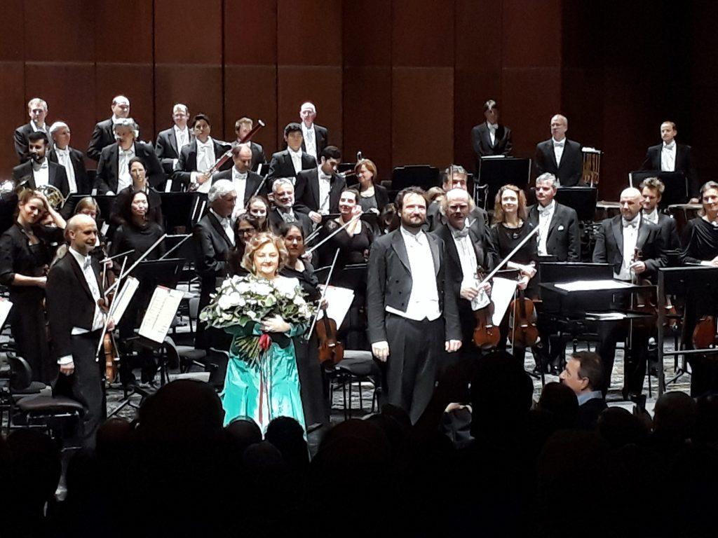Edita Gruberová & Peter Valentovic, Deutsche Oper Berlin, 1.12.2018. Foto © Urszula Usakowska-Wolff
