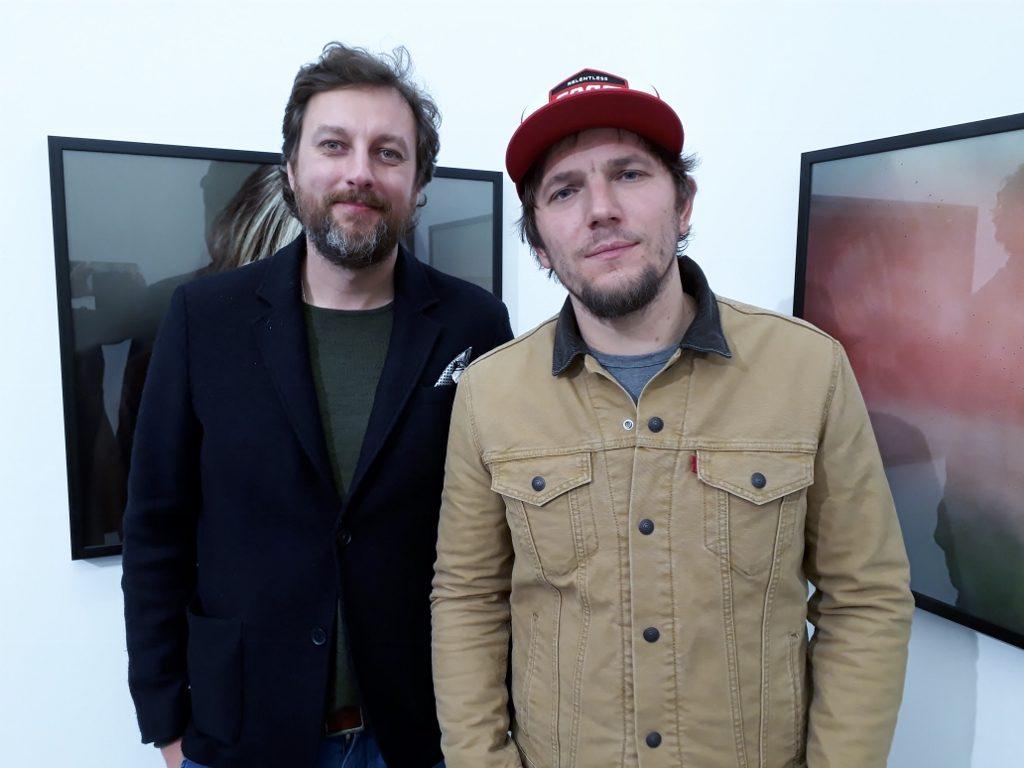 Michal Solarski und Tomasz Liboska, 2019. Foto © Urszula Usakowska-Wolff