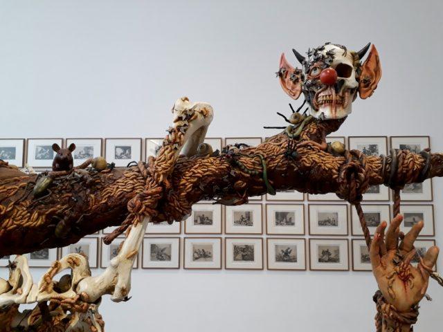 Jake & Dinos Chapman, Sex I (Detail), Installtionsansicht me Collectors Room. Foto © Urszula Usakowska-Wolff