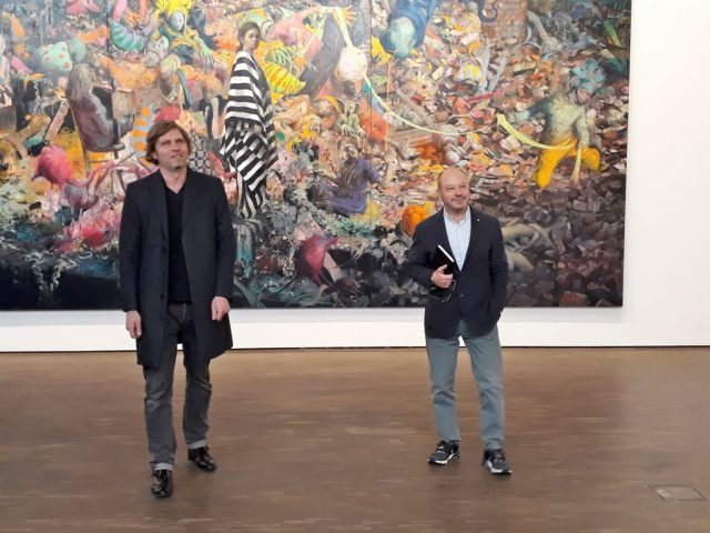 Jonas Burgert und Thomas Olbricht. Foto © Urszula Usakowska-Wolff