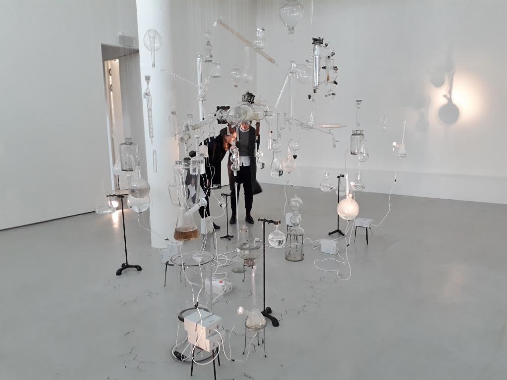 Sissel Tolaas 22 - Molecular Communication, Schering Stiftung Berlin. Foto © Urszula Usakowska-Wolff