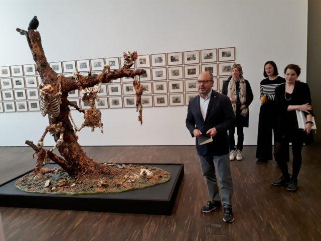 "Thomas Olbricht, Ausstellung ""Beyond"". Foto © Urszula Usakowska-Wolff"