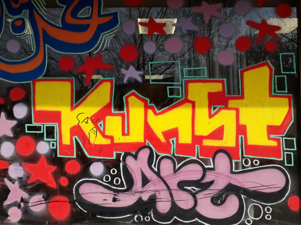 Kunst, Berlin-Kreuzberg. Foto © Urszula Usakowska-Wolff