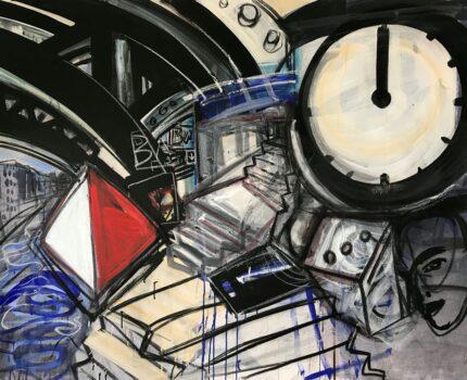 Die Ausstellung »Zufall, Glück und Spiel« von Ellen Fuhr in der Galerie Helle Coppi